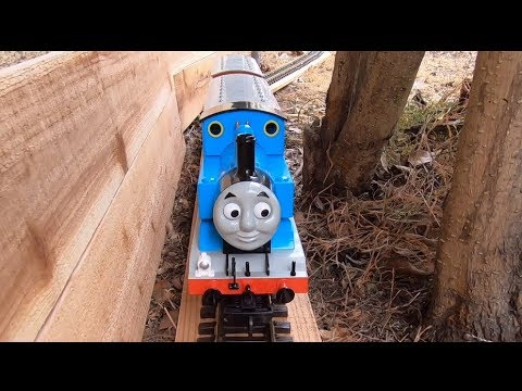 Amtrak & Thomas The Tank Engine On A New Layout
