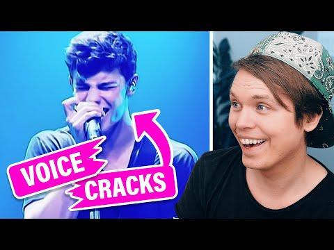 Hilarious Singing Voice Cracks