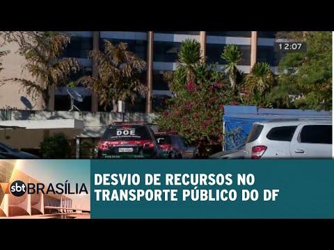 Desvio de recursos no transporte público do DF é investigado | SBT Brasília 30/08/2018