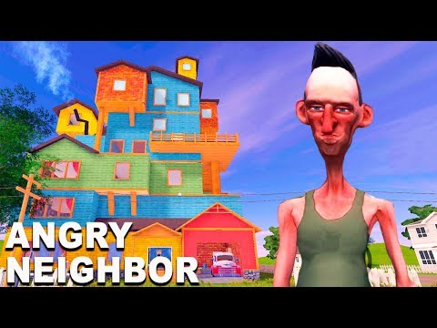 ЭТОТ СОСЕД ОЧЕНЬ СТРАННЫЙ! Пробрался в ДОМ СОСЕДА ПОКА ОН СПАЛ Игра Angry Neighbor от Cool GAMES