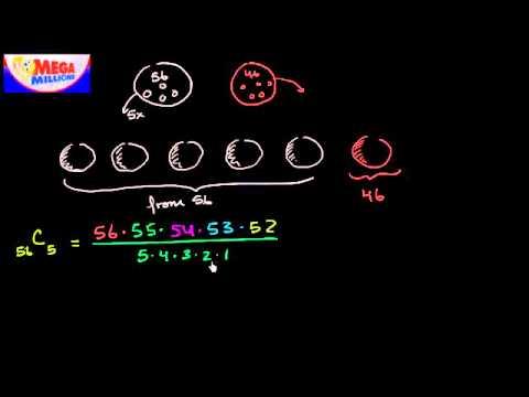 02   Probability using combinatorics   09   Mega millions jackpot probability