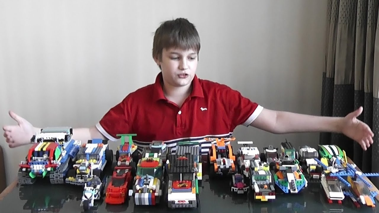 Самоделки из LEGO - обзор всех моих легосамоделок