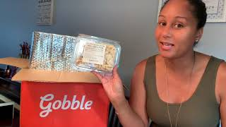 Gobble meal delivery unboxing/ review