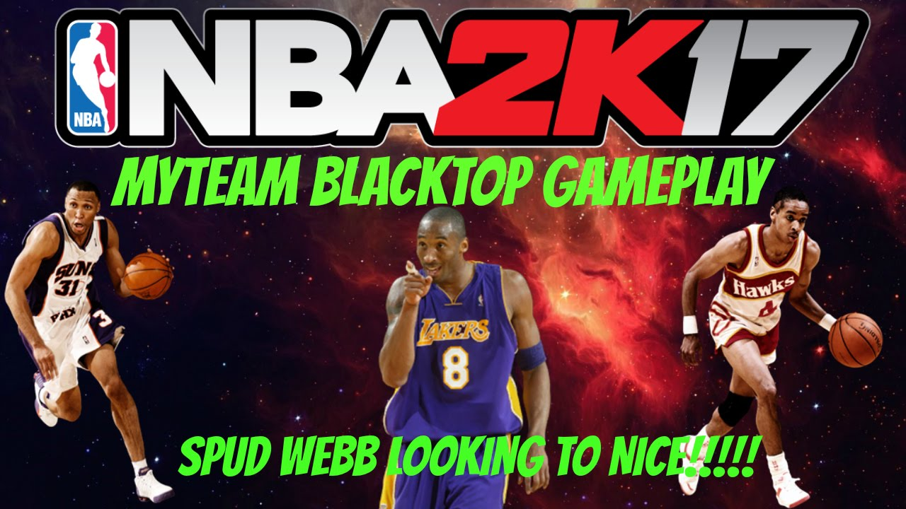 SPUD WEBB KINDA NICE NBA 2K17 MyTeam Blacktop gameplay