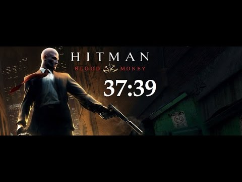 Hitman Blood Money - PRO/SA/NG+ speedrun in 37:39 (live commentated run)