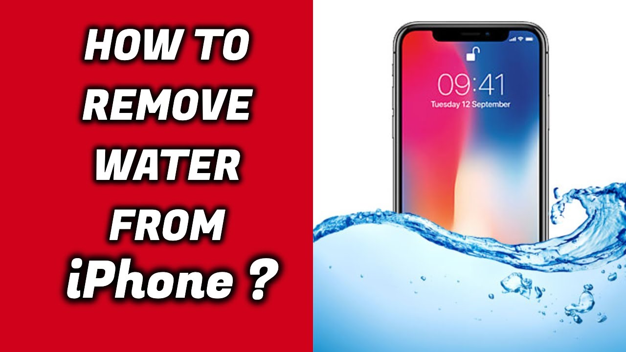 size 40 79130 3cb3f How to Remove water out of IPhone X/XS Speakers ! #2018 ( Will work with  All IPhones)