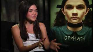 Isabelle Fuhrman interview for Orphan (the creepy girl haha)