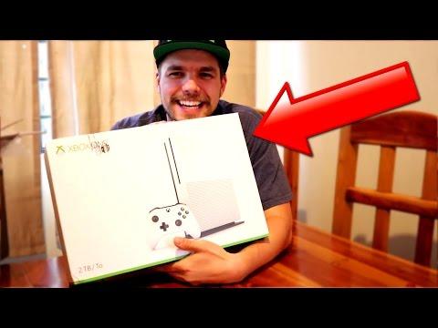 UNBOXING XBOX ONE S !! Xbox One S Vs PS4 Vs Xbox One