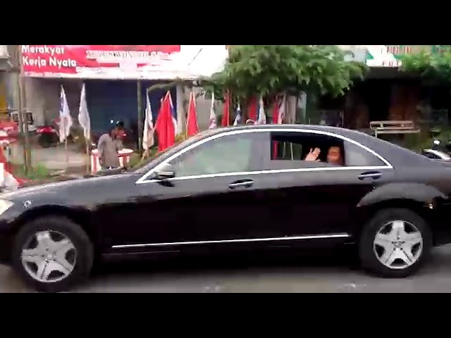 Kedatangan Presiden Jokowi di Tulungagung. #1