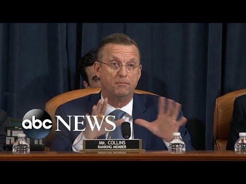Rep. Doug Collins delivers impeachment opening statement l ABC NEWS