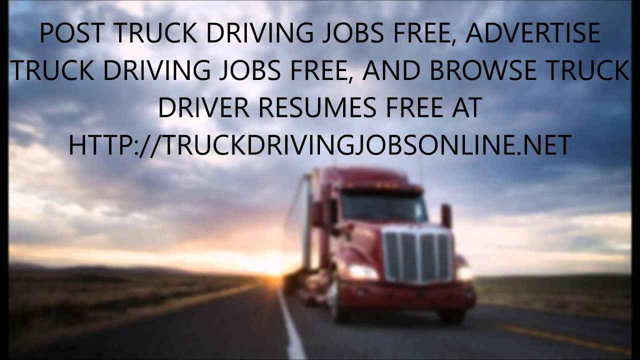post truck driving jobs driver resumes post truck driving jobs driver resumes
