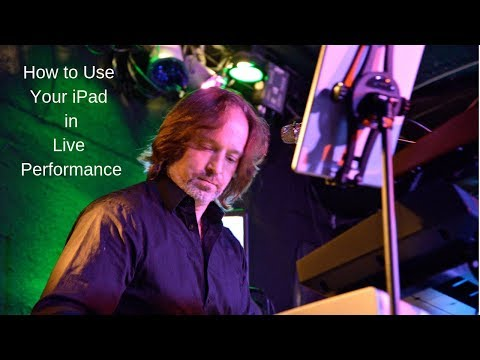 How to Use Your iPad for Performing Live - ColyerMusic VLOG #005