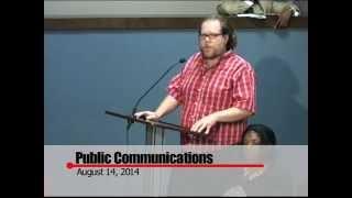 Huntsville City Council 8.14.14