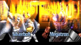 Transformers Beast Wars Transmetal Gameplay PS1