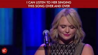 Storms Never Last (with Lyrics) - Miranda Lambert