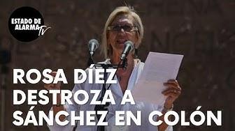 """Imagen del video: Rosa Díez, más alto y claro que nunca, destroza a Sánchez en Colón: """"Inepto, parásito y autoritario"""""""