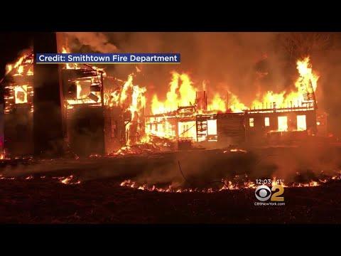 173-Year-Old Mansion Burns To Ground In Smithtown