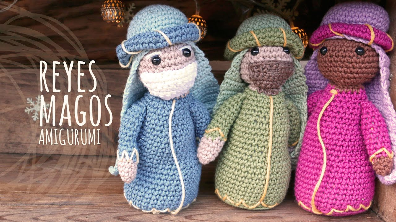 Belen Nativity Amigurumi : Tutorial Belen Amigurumi Part 4: Reyes Magos (Nativity ...