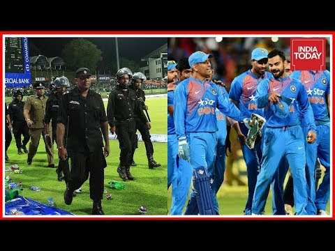 Security Measures For Team India Increased For ODI Match In Colombo
