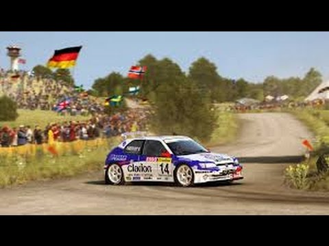 dirt rally carri re ep 8 peugeot 306 maxi youtube. Black Bedroom Furniture Sets. Home Design Ideas