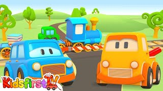 Clever Cars and Trucks Kids39; Cartoon Games for Kids