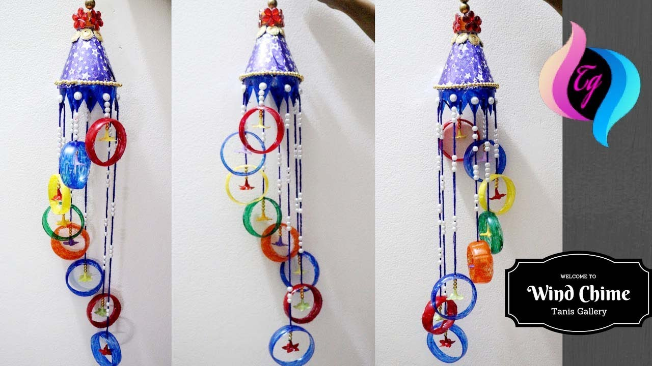 Plastic Bottle Wind Chime Homemade Chimes Ideas Making Out Recycled Materials