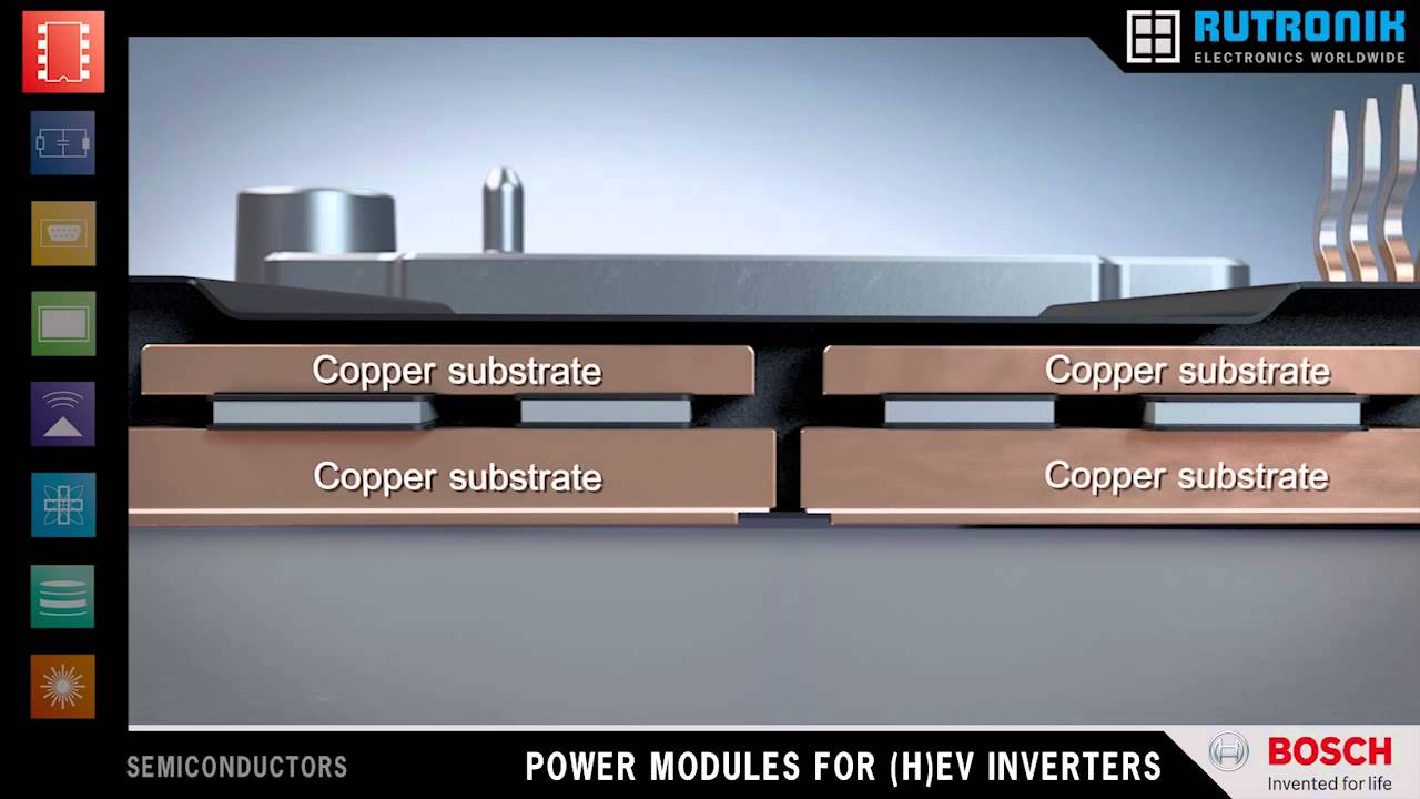 bosch automotive electronics igbt half bridge for h ev
