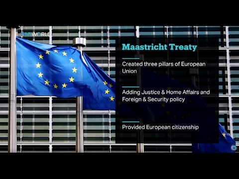 Maastricht Treaty Anniversary: 25 years since EU founding agreement signed