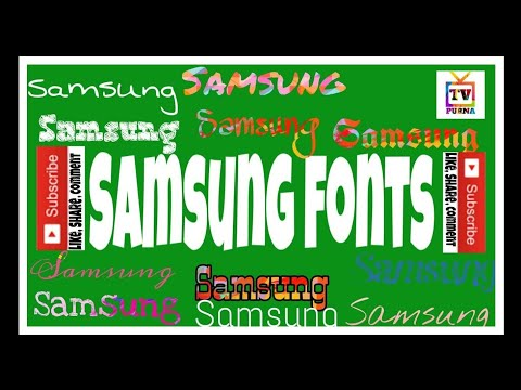 How to change font size and font style on Samsung one ui A70