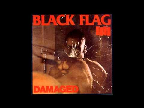 Black Flag - Depression with Lyrics