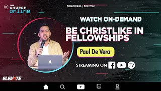 Online Youth Service   For You Page: Grow In A Small Group   Paul De Vera