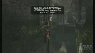 Tomb Raider Anniversary Nintendo Wii Gameplay - Exploration