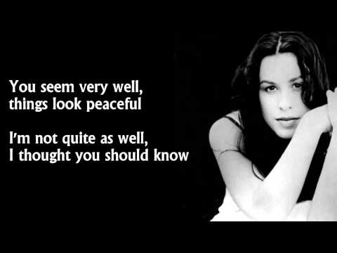 Alanis Morissette  You Oughta Know s HD
