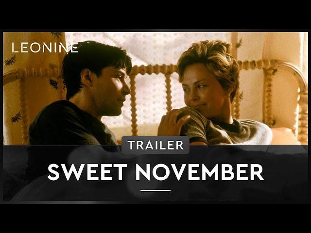 Sweet November - Trailer (deutsch/german)