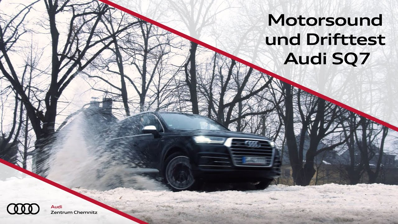 audi sq7 motorsound und drift test audi zentrum chemnitz youtube. Black Bedroom Furniture Sets. Home Design Ideas