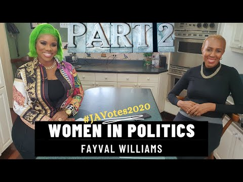 Women in Politics - Fayval Williams, Incumbent MP, St Andrew Eastern, Fayval Williams PART 2