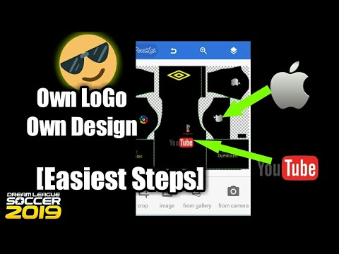 b41717282 How to make your OWN kit in dream league soccer 2019(OWN logo and design