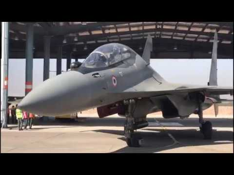 Indian Defence Minister takes to sky in SU-30 MKI Fighter Aircraft