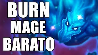 BURN MAGE BARATO (  Mago ) | Hearthstone