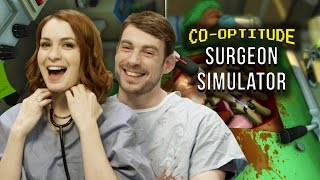 Let's Play Surgeon Simulator! (Co-Optitude w/ Ryon & Felicia Day)