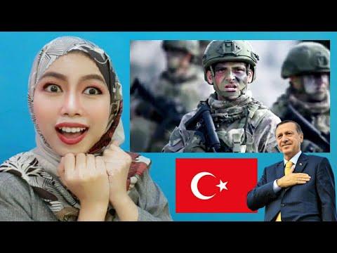 Indonesian Reacts to Vatanıma Göz Dikip Kılıç Çekilmedikçe Kılıç Çekmeyen Türk Askeriyiz