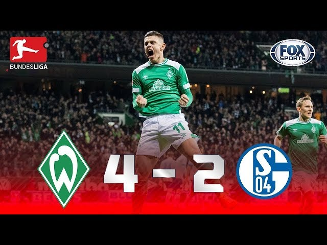 CHUVA DE GOLS! Veja como foi Werder Bremen 4 x 2 Schalke 04 pela Bundesliga