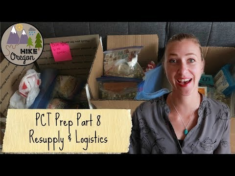 Pacific Crest Trail Prep | Resupply & Logistics