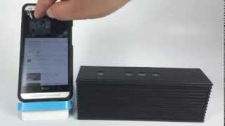 HyPE Stereo Block. Bluetooth Speaker