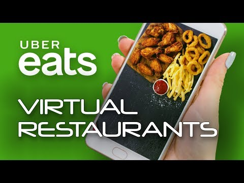 UberEATS Technology Is Developing Delivery-Only Virtual Restaurants