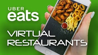 UberEATS Technology Is Developing New Delivery-Only Virtual Restaurants