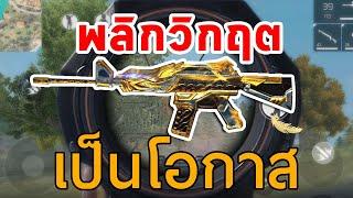 FREEFIRE M4A1 ทองรั่วจนทำเกมพลิก