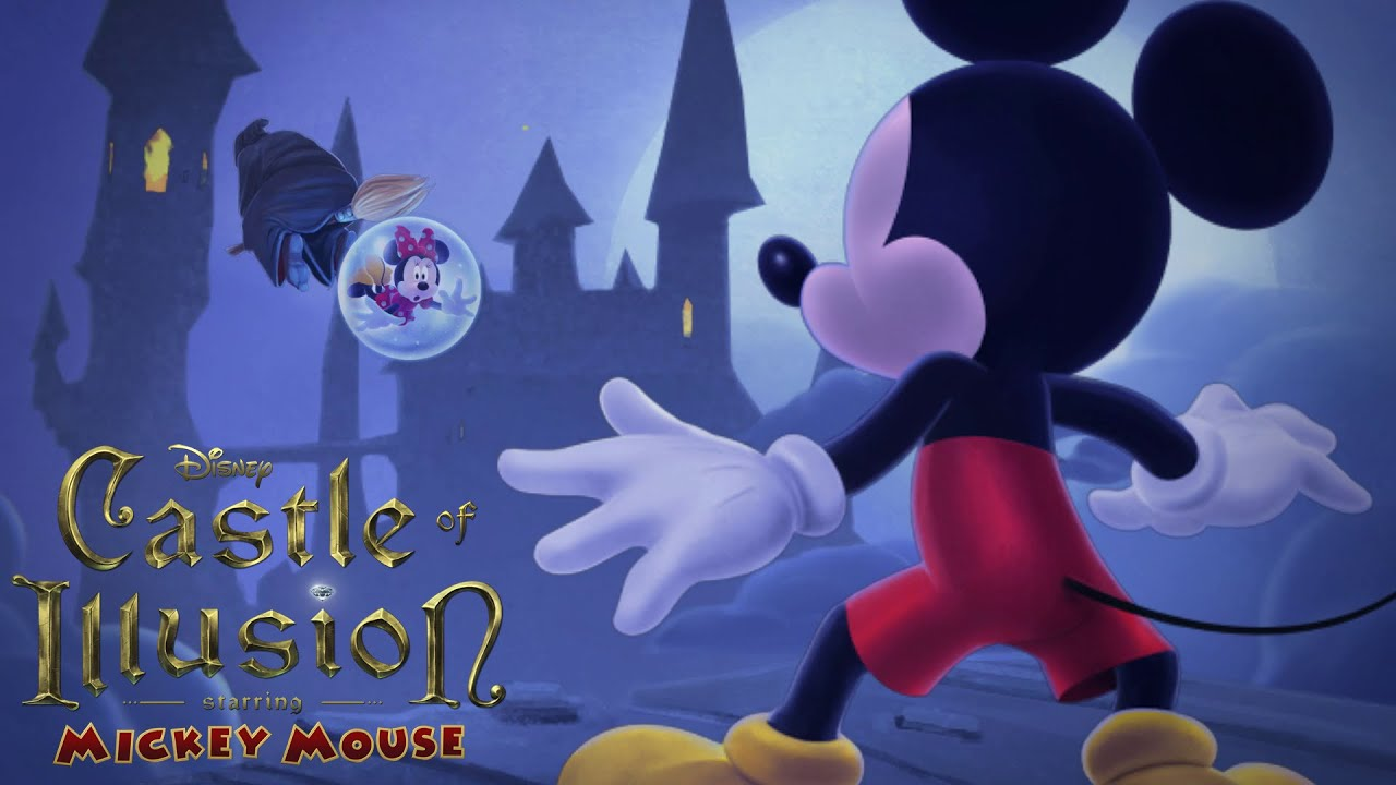 castle of illusion starring mickey mouse gameplay full game episodes disney cartoon game youtube