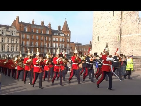 Changing the Guard at Windsor Castle - Monday the 27th of March 2017
