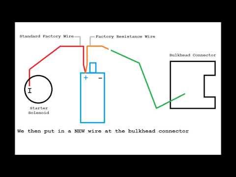 hook up external tachometer